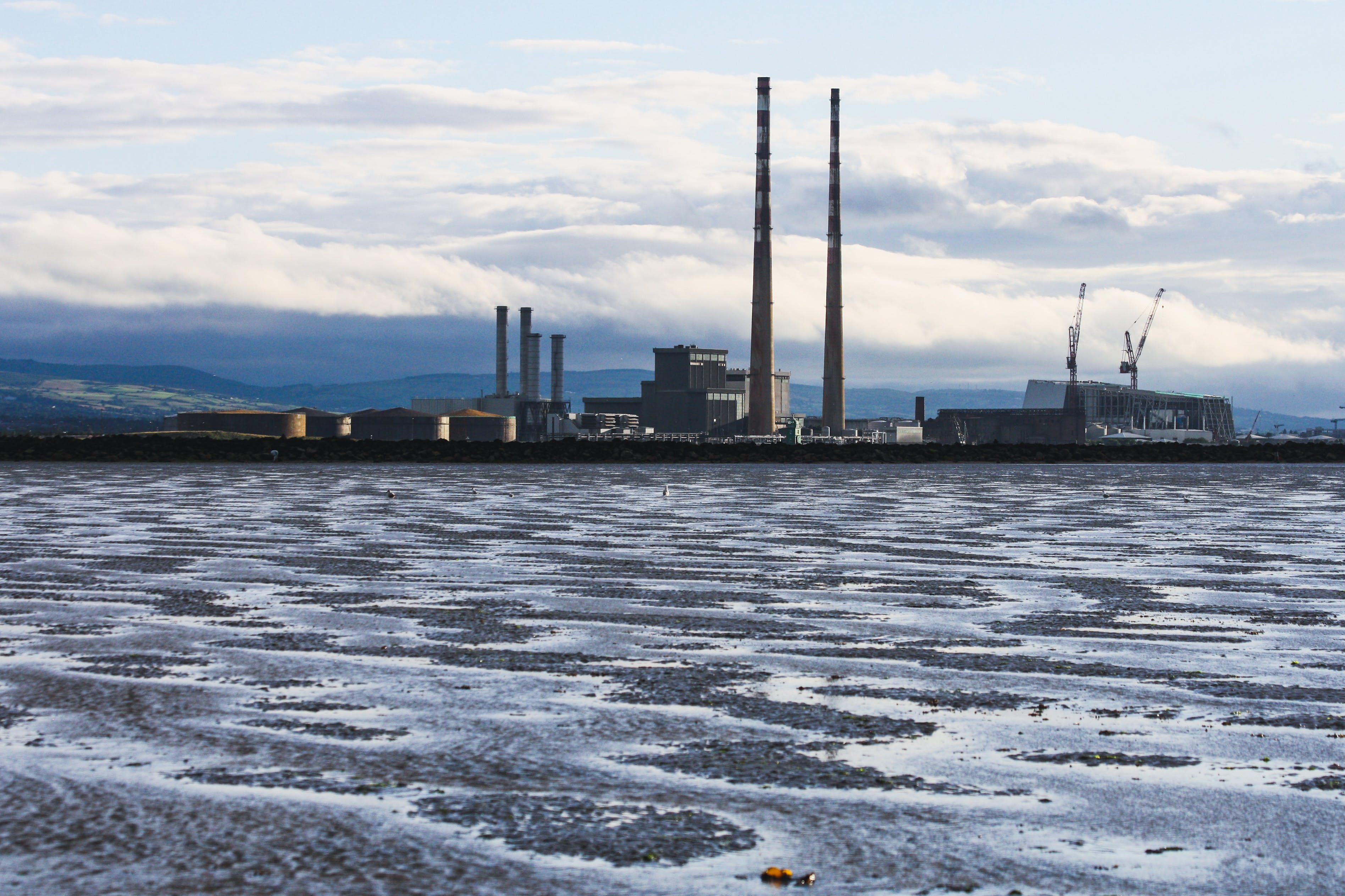 Free stock photo of beach, dublin, industrial, old factory