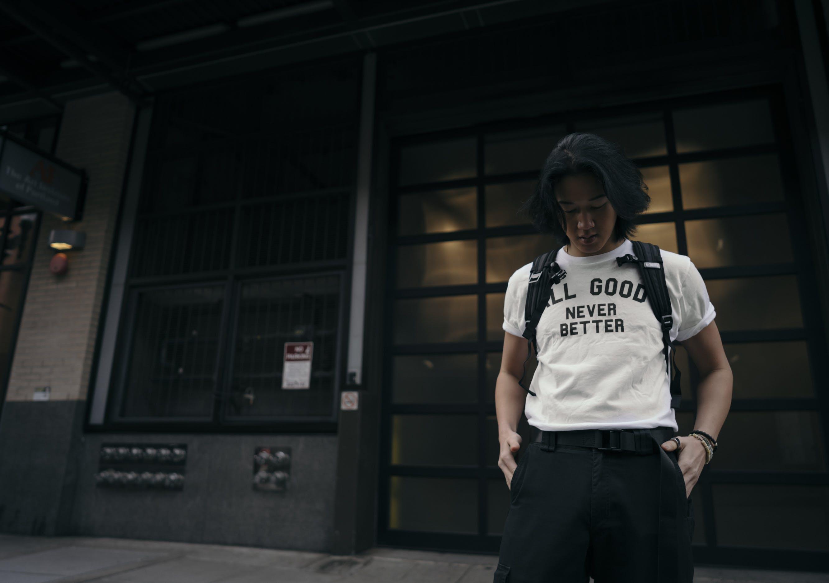 Základová fotografie zdarma na téma černé kalhoty, móda, model, muž