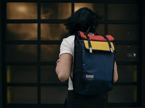 คลังภาพถ่ายฟรี ของ กระเป๋าเป้, คน, ถนน, ทันสมัย