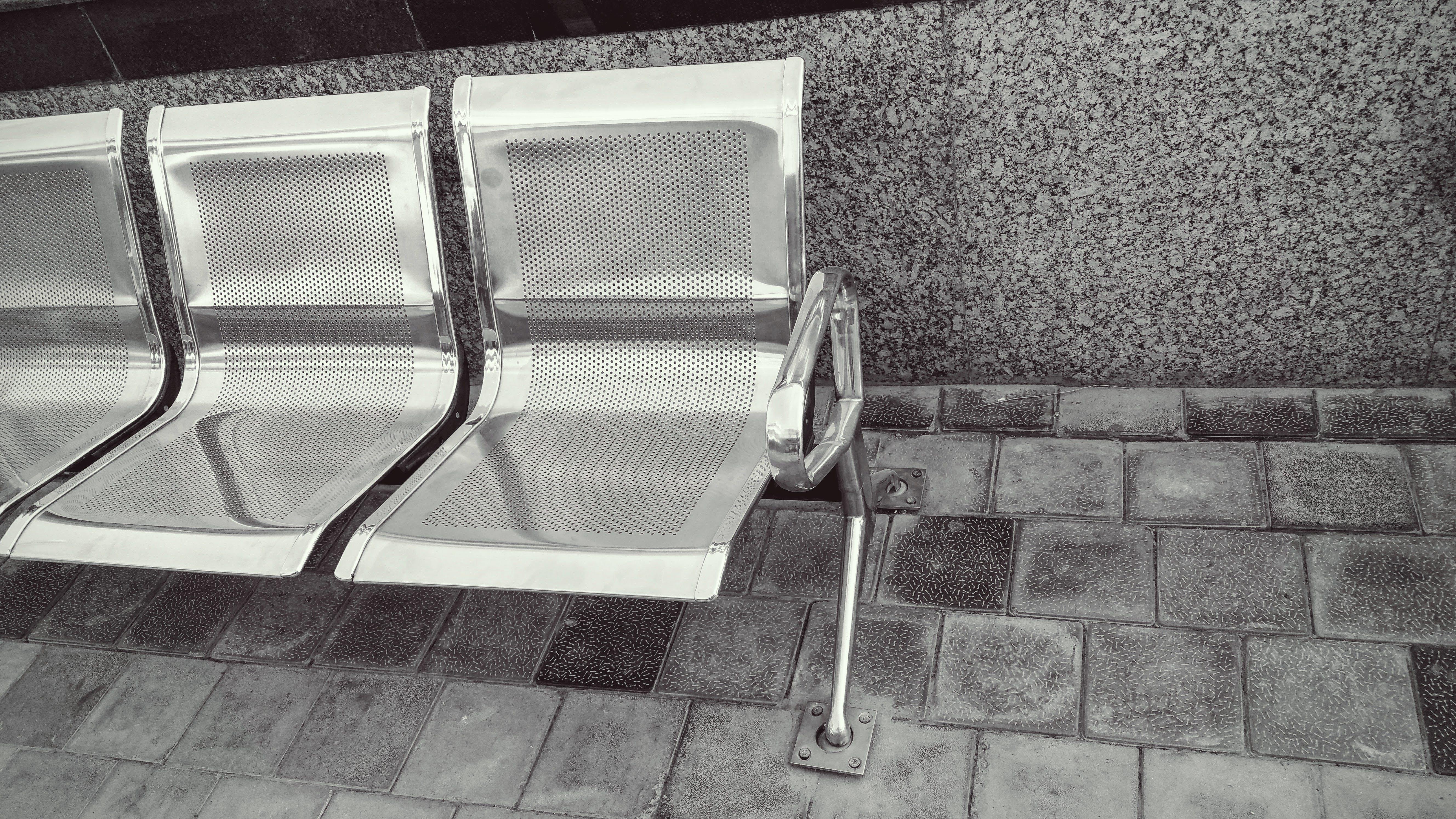 いす, アウトドア, コンテンポラリー, ステンレス鋼の無料の写真素材