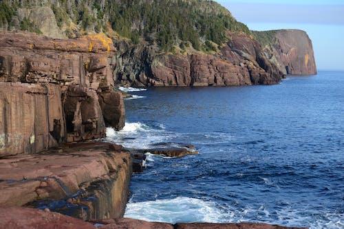 Free stock photo of Blue ocean, cliffs, Flatrock, newfoundland