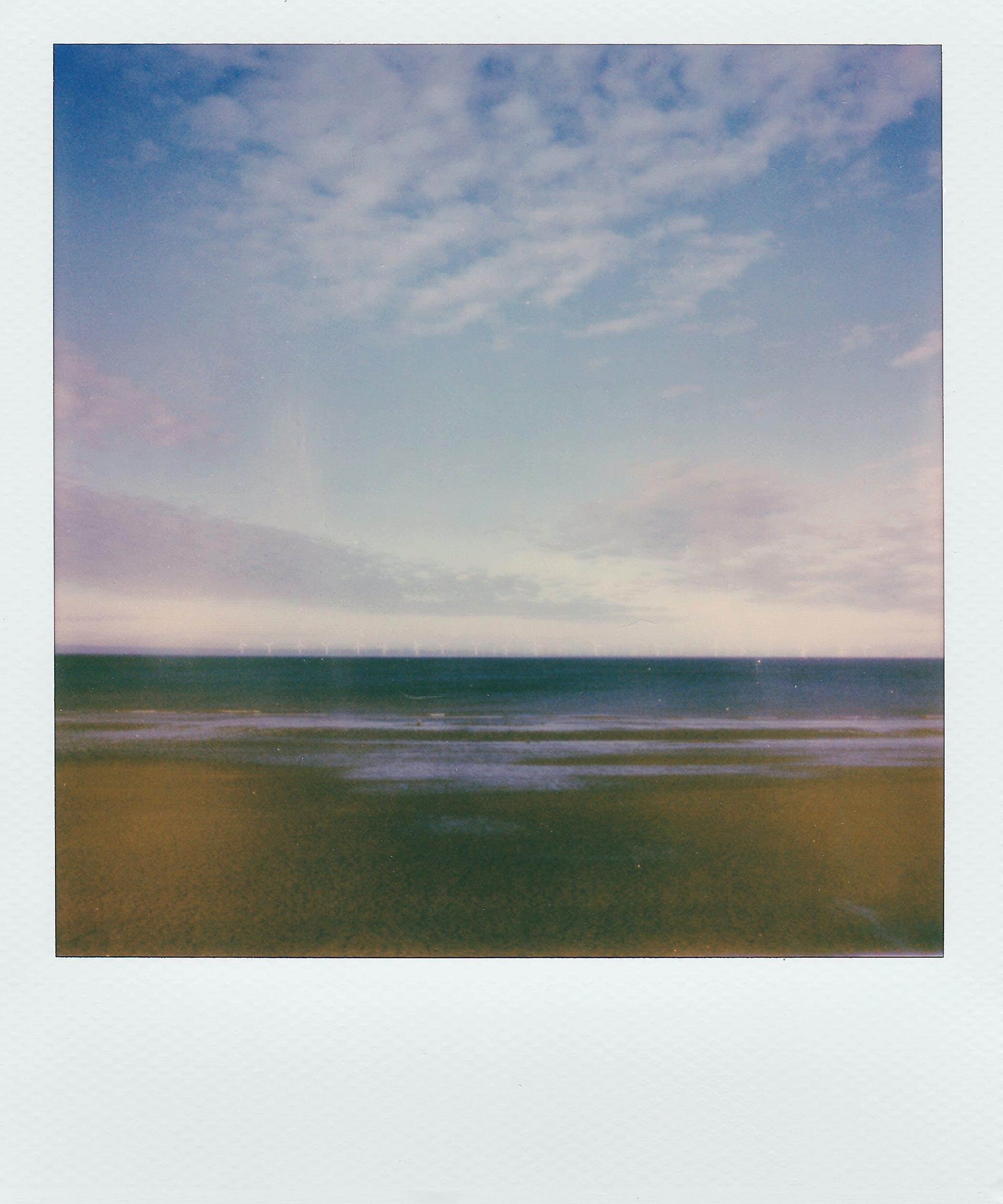 beach, clouds, daylight