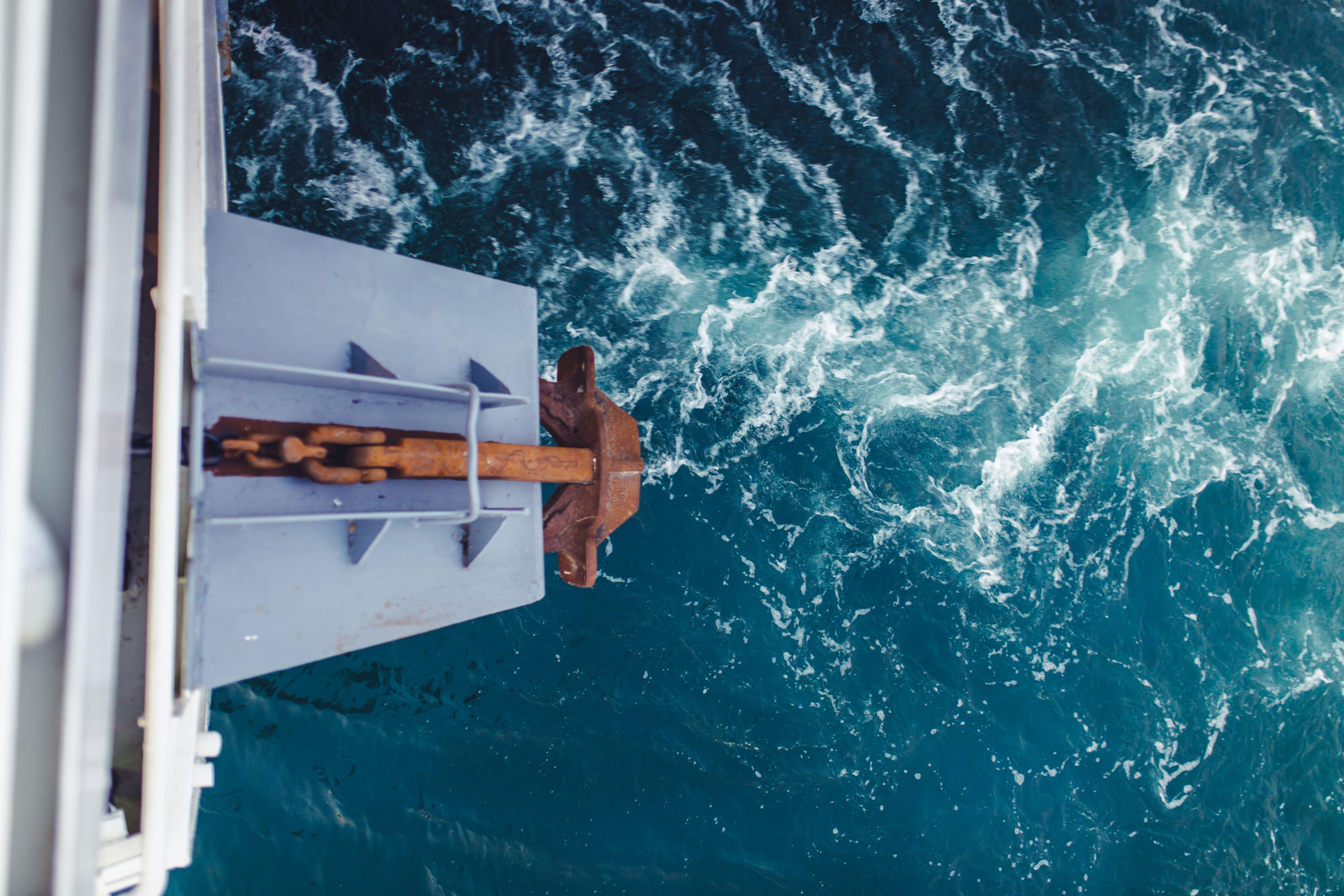 Kostnadsfri bild av ankare, dagsljus, fartyg, hav