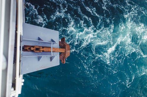 Gratis lagerfoto af anker, bølger, dagslys, hav