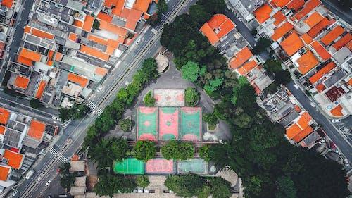 Ilmainen kuvapankkikuva tunnisteilla arkkitehtuuri, droonikuva, droonikuvaus, rakennukset
