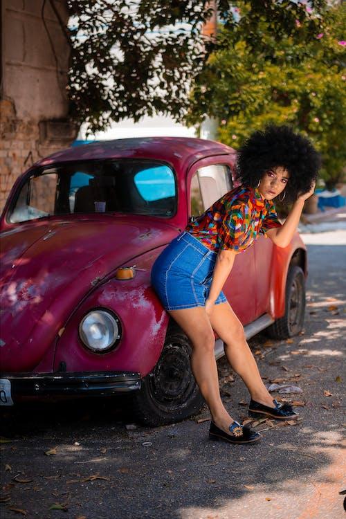 Foto d'estoc gratuïta de de moda, dona, dona afroamericana, Dona bonica