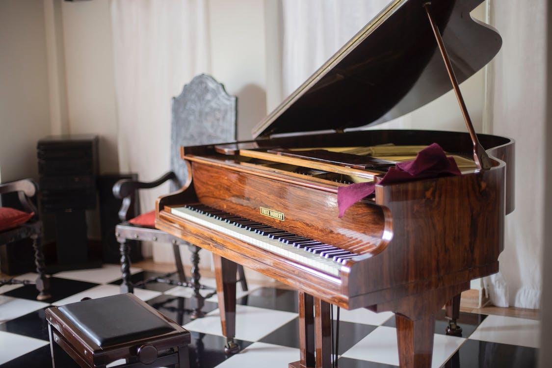 abanos, clape de pian, claviatură