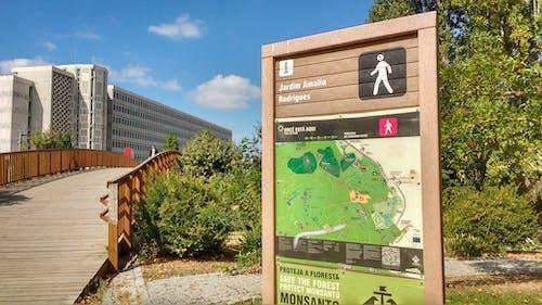 Free stock photo of brigde, signpost