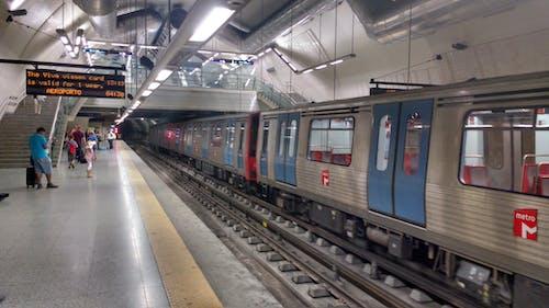 Free stock photo of metro