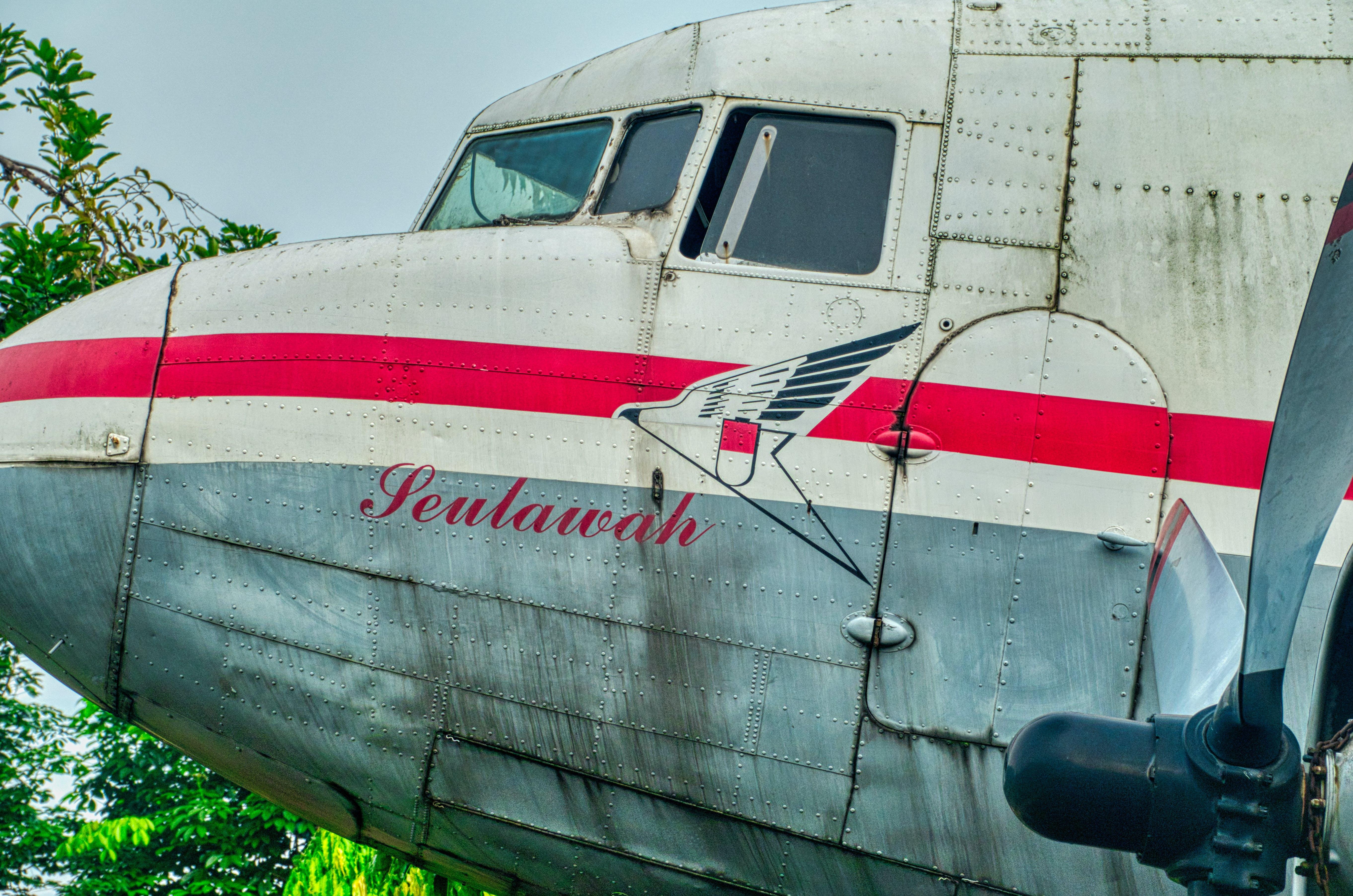 Kostenloses Stock Foto zu fahrzeug, flugzeug, indonesien, transportsystem