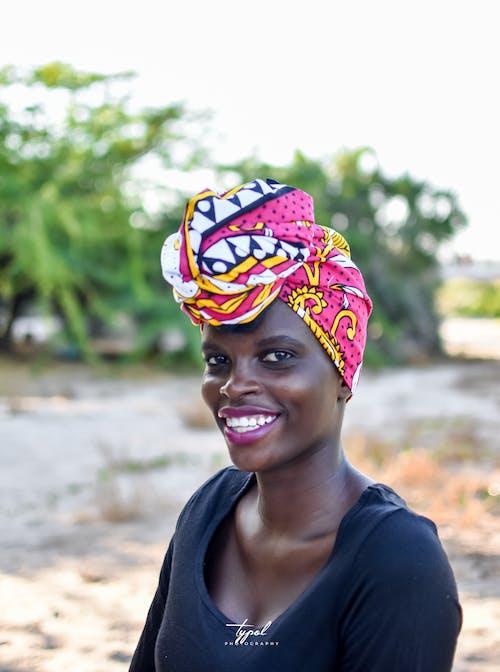 Gratis arkivbilde med afrikansk portrett, afrikansk slitekjole, afrikanske kvinner