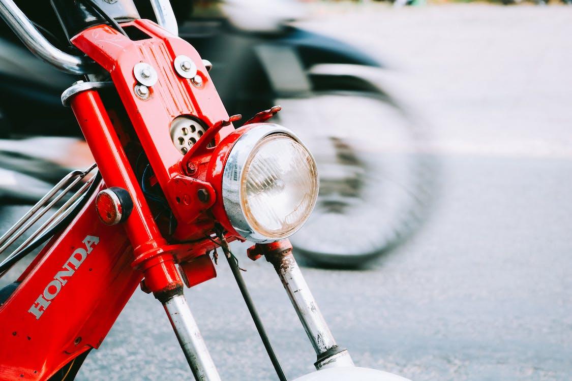 cesta, dopravný systém, motocykel