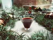 table, decoration, christmas
