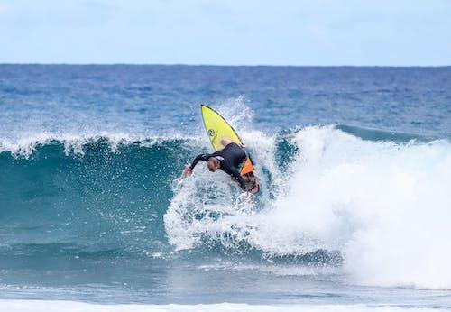 Gratis lagerfoto af bevægelse, bølger, ekstremsport, fritid
