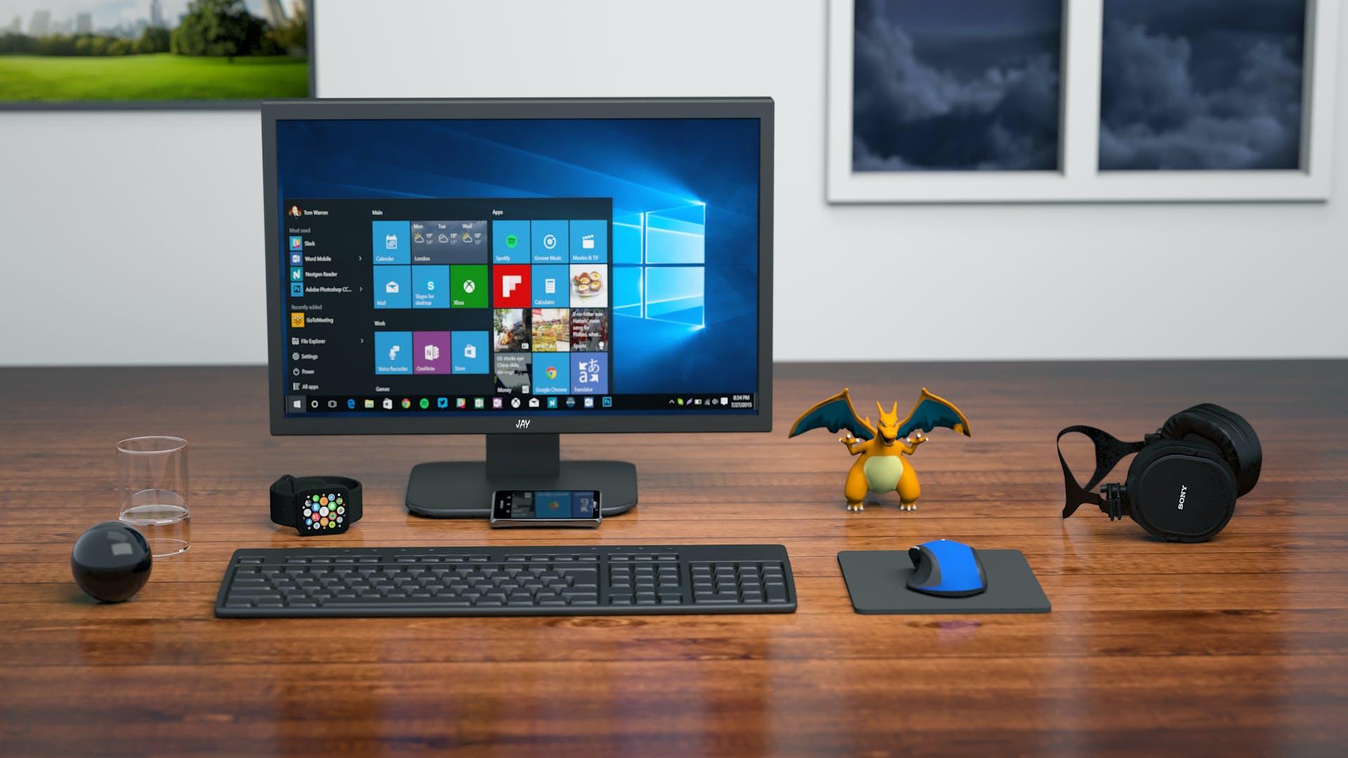 Kostenloses Stock Foto zu bildschirm, büro, business, computer