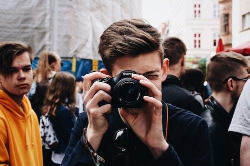 คลังภาพถ่ายฟรี ของ กล้อง, การถ่ายรูป, กำลังถ่ายรูป, ความชัดลึก