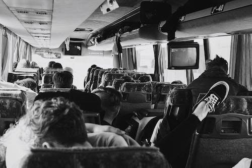 Immagine gratuita di bianco e nero, gita (viaggio), persone, seduto