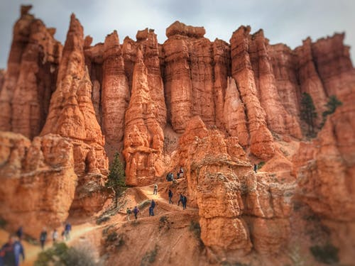 Free stock photo of bryce canyon