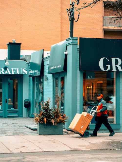 Imagine de stoc gratuită din afaceri, agent de livrari, arhitectură