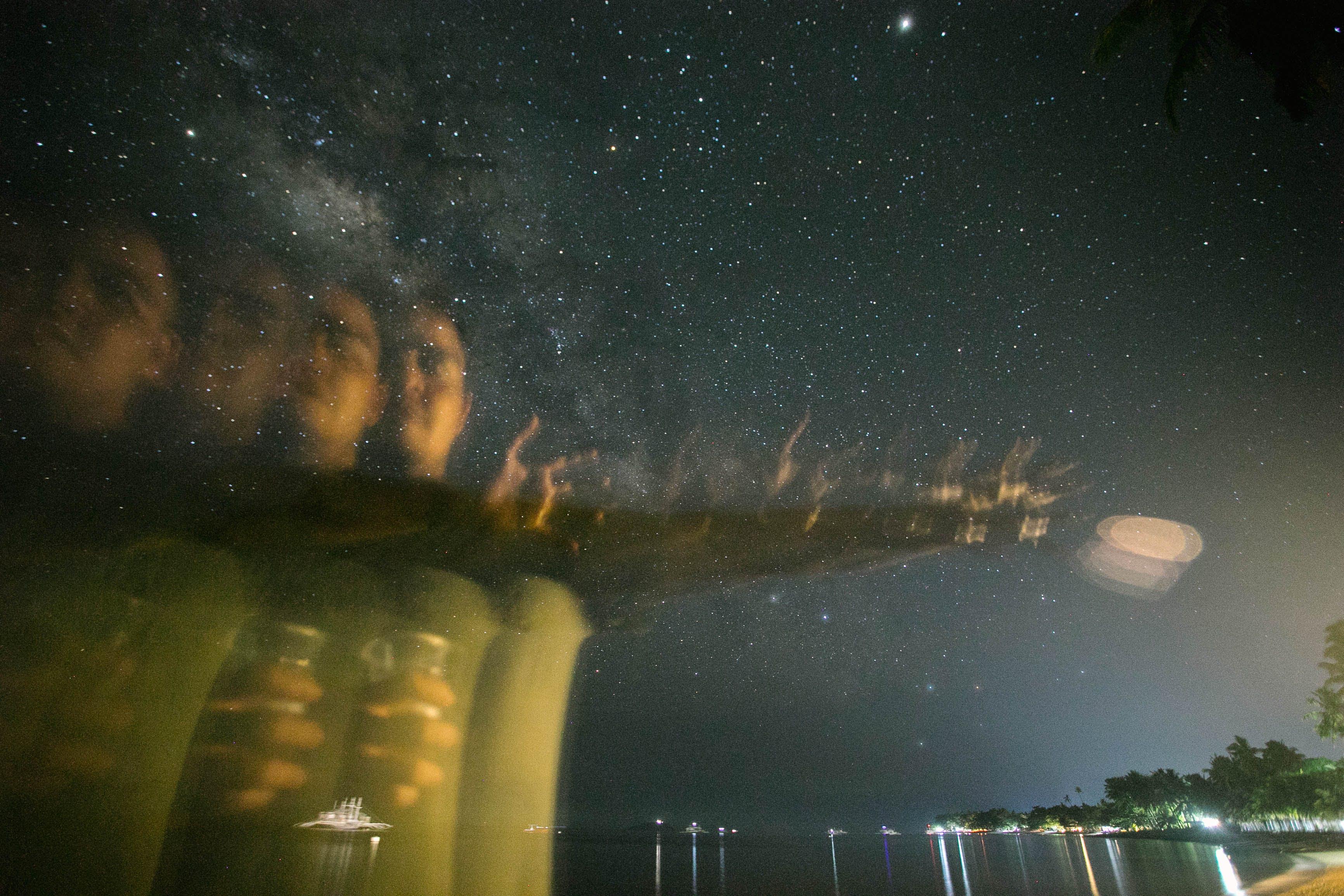 Gratis lagerfoto af galakse, stjerner