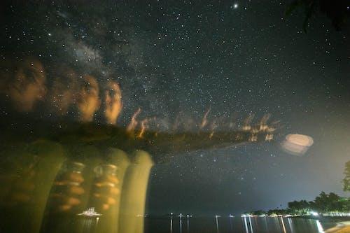 Бесплатное стоковое фото с galaxy, звезды