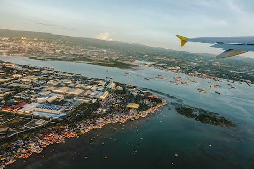Бесплатное стоковое фото с летающий, пейзаж