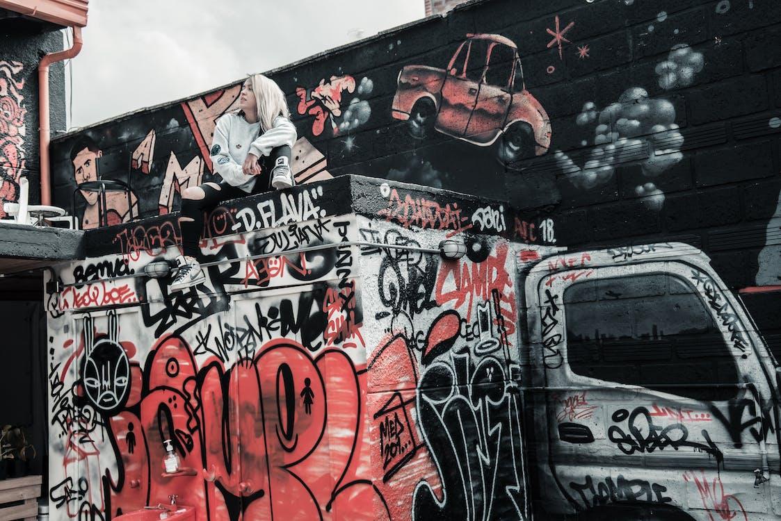 거리 예술, 그래피티, 그림