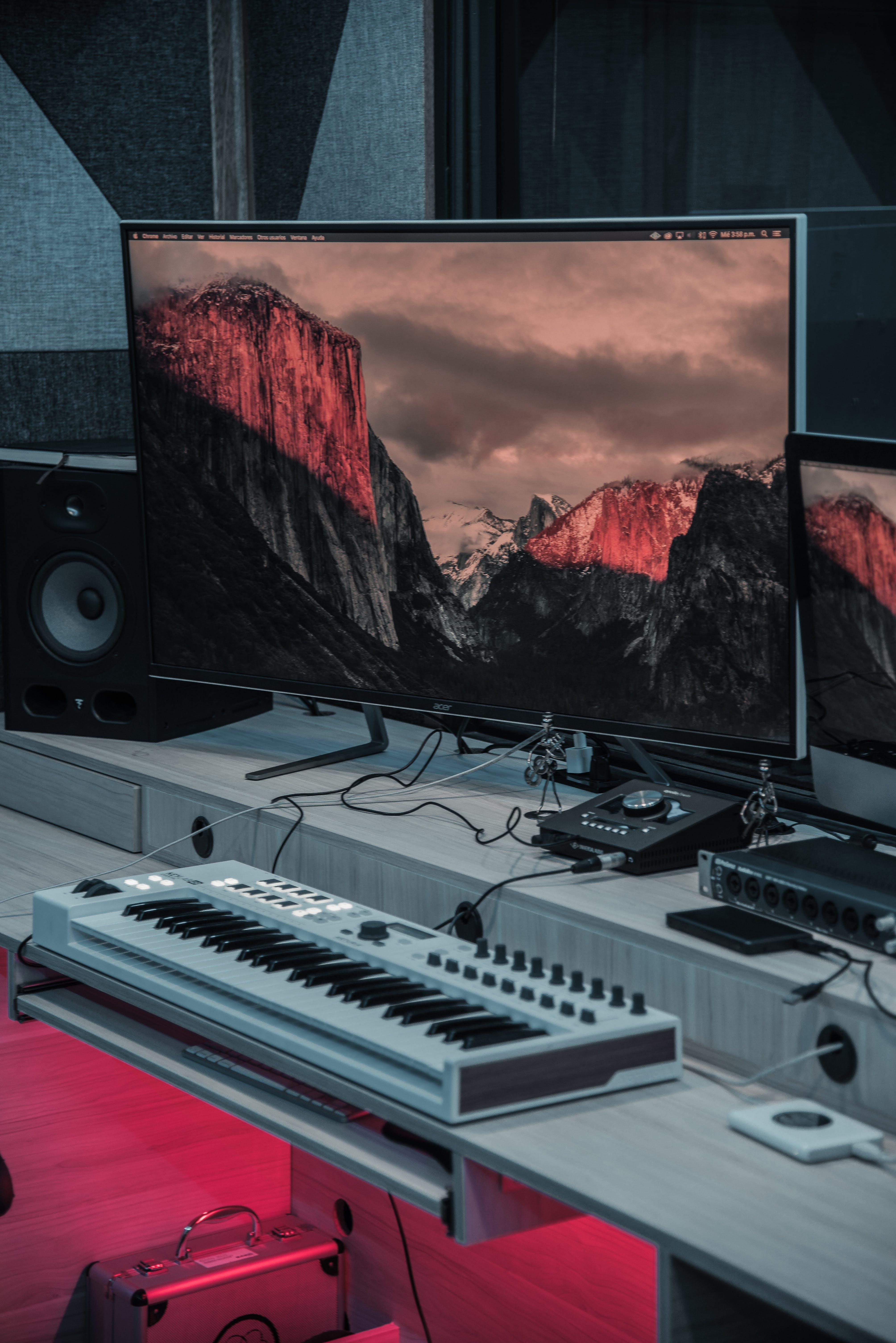 インドア, エレクトロニクス, オーディオミキサー, サウンドスタジオの無料の写真素材