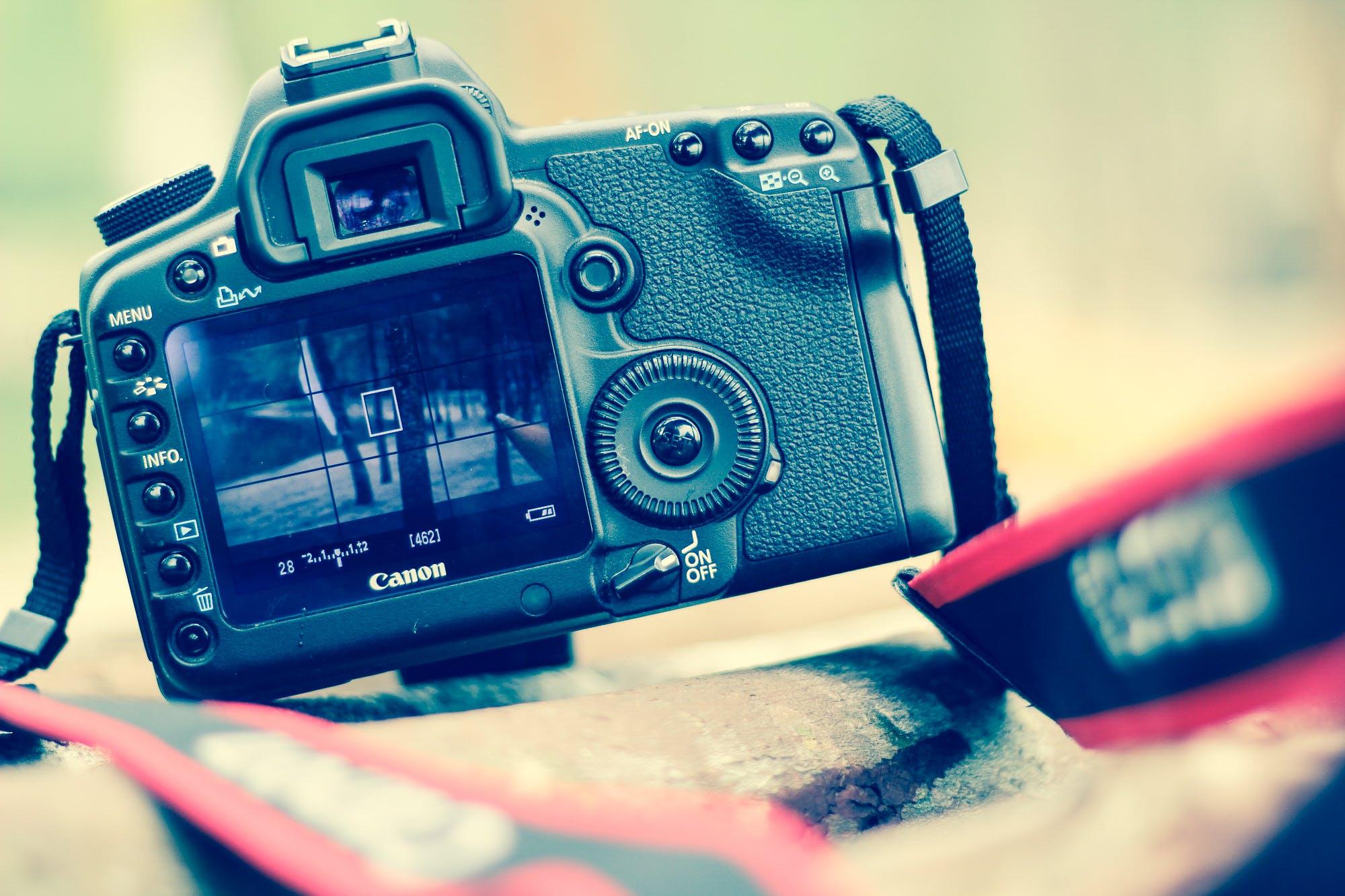 Gratis lagerfoto af Canon, elektronik, enhed, farve