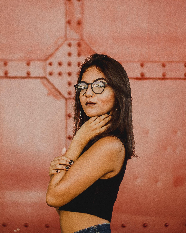 Gratis lagerfoto af afslappet, asiatisk w, attraktiv, briller