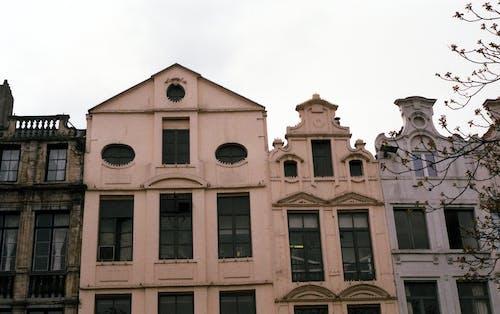 Foto d'estoc gratuïta de arquitectura, barri antic, cel, disseny arquitectònic