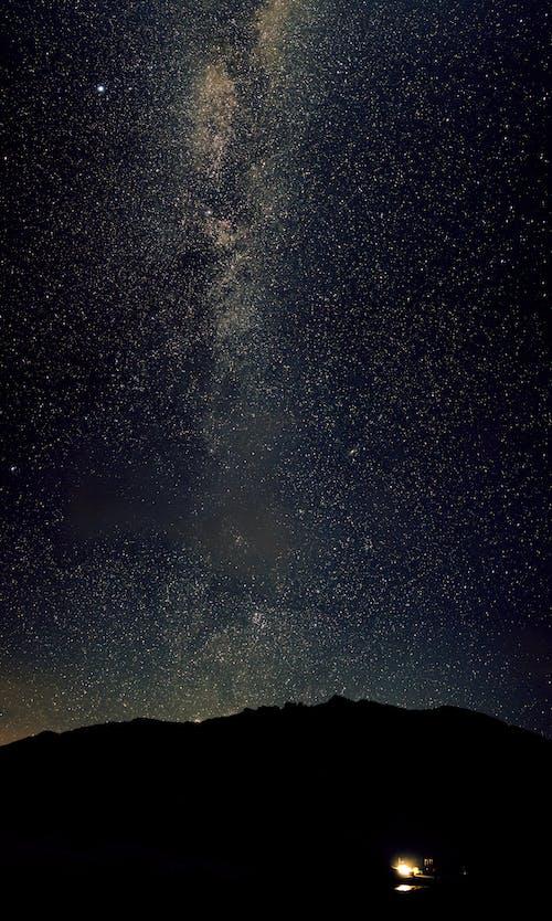 Free stock photo of milky way, star