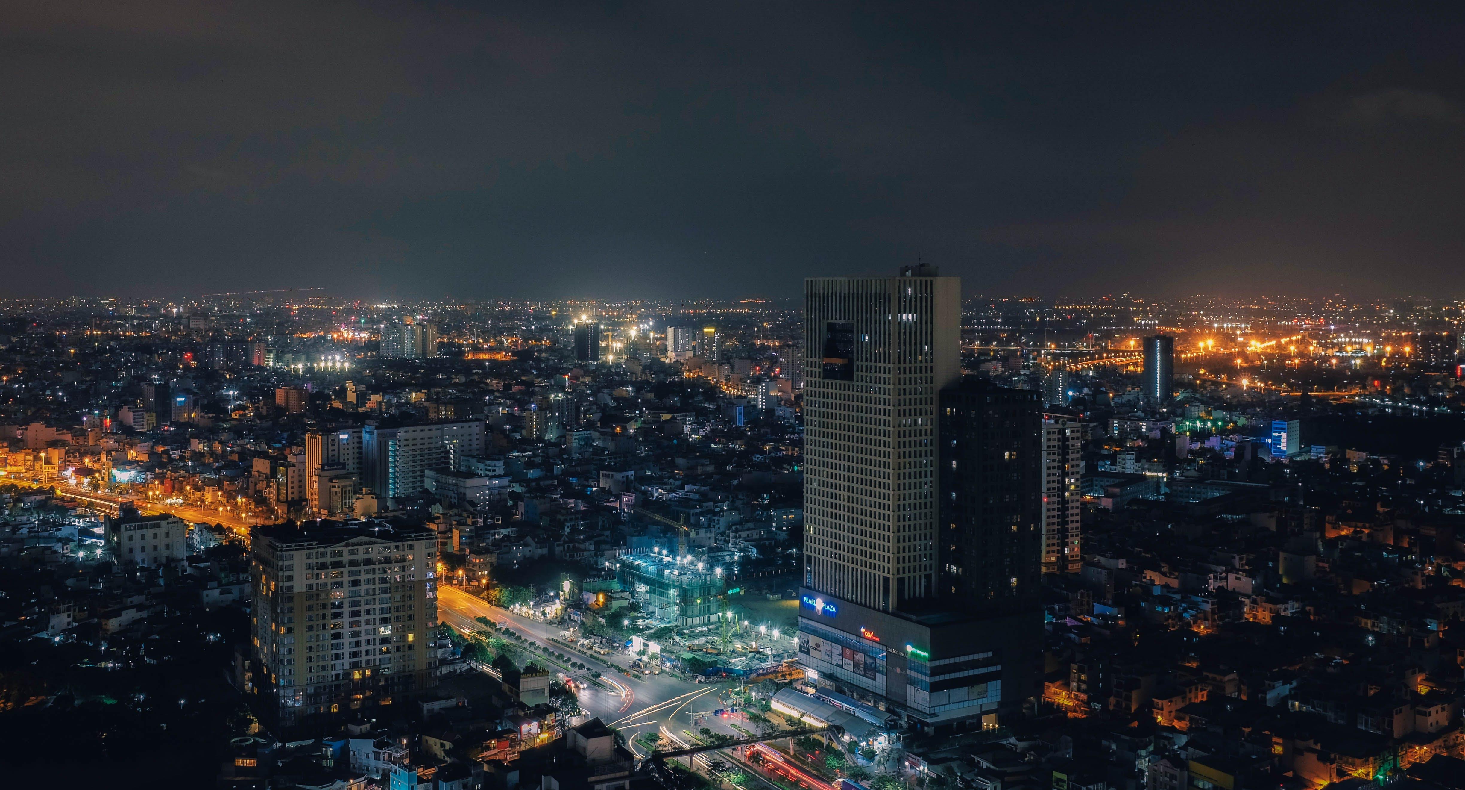 Fotos de stock gratuitas de ciudad, ciudad de ho chi minh, exposición larga, ligero