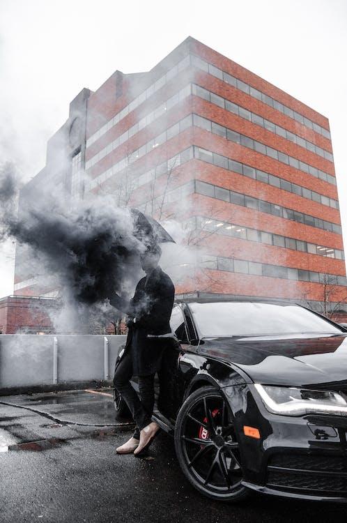 architektúra, auto, automobil