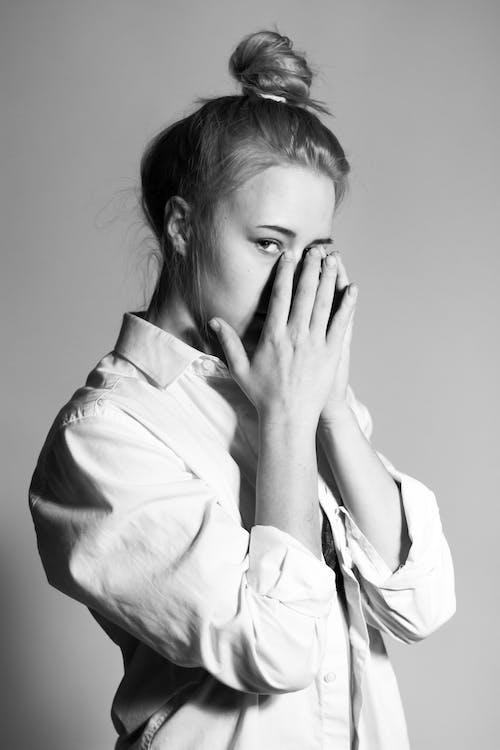 Immagine gratuita di bellissimo, carino, donna, espressione facciale