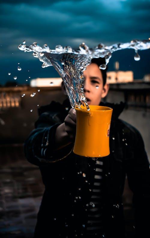Immagine gratuita di acqua, alla moda, alla ricerca, capelli