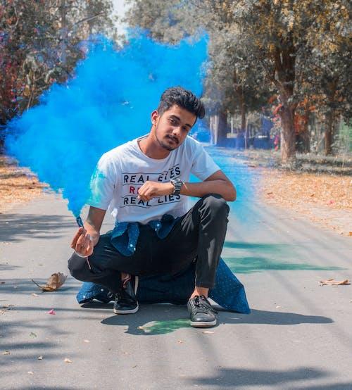 煙幕弾, 色の無料の写真素材