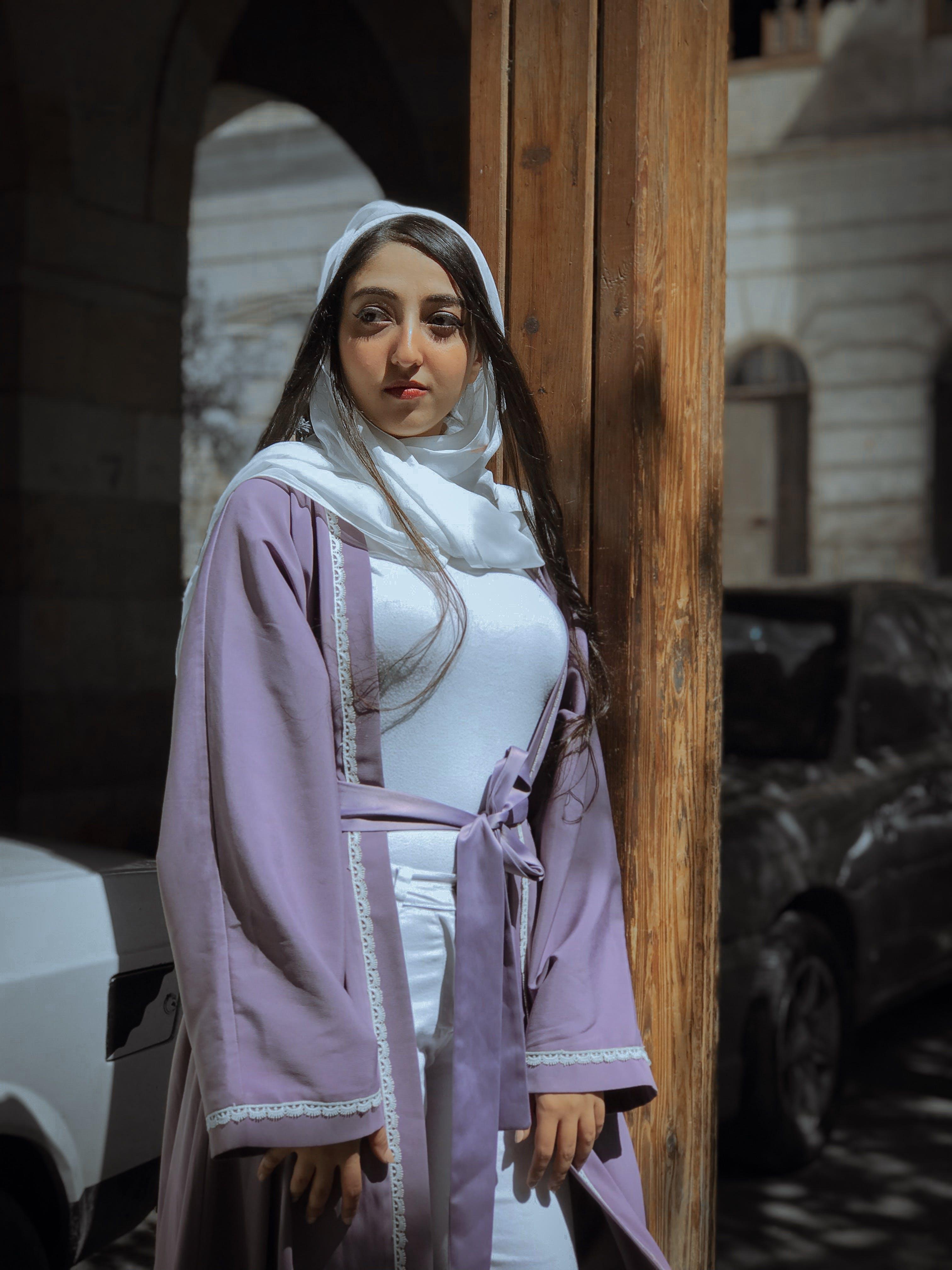 Kostenloses Stock Foto zu fashion, frau, hijab, hübsch
