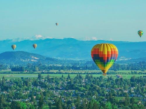 Free stock photo of hot air balloon, hot air balloons, napa valley