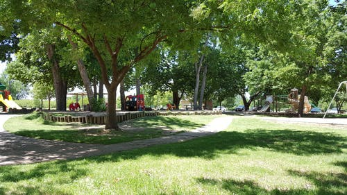Free stock photo of park, peaceful, playground, slides