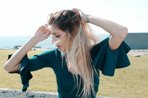 女孩, 金髮 的 免费素材图片