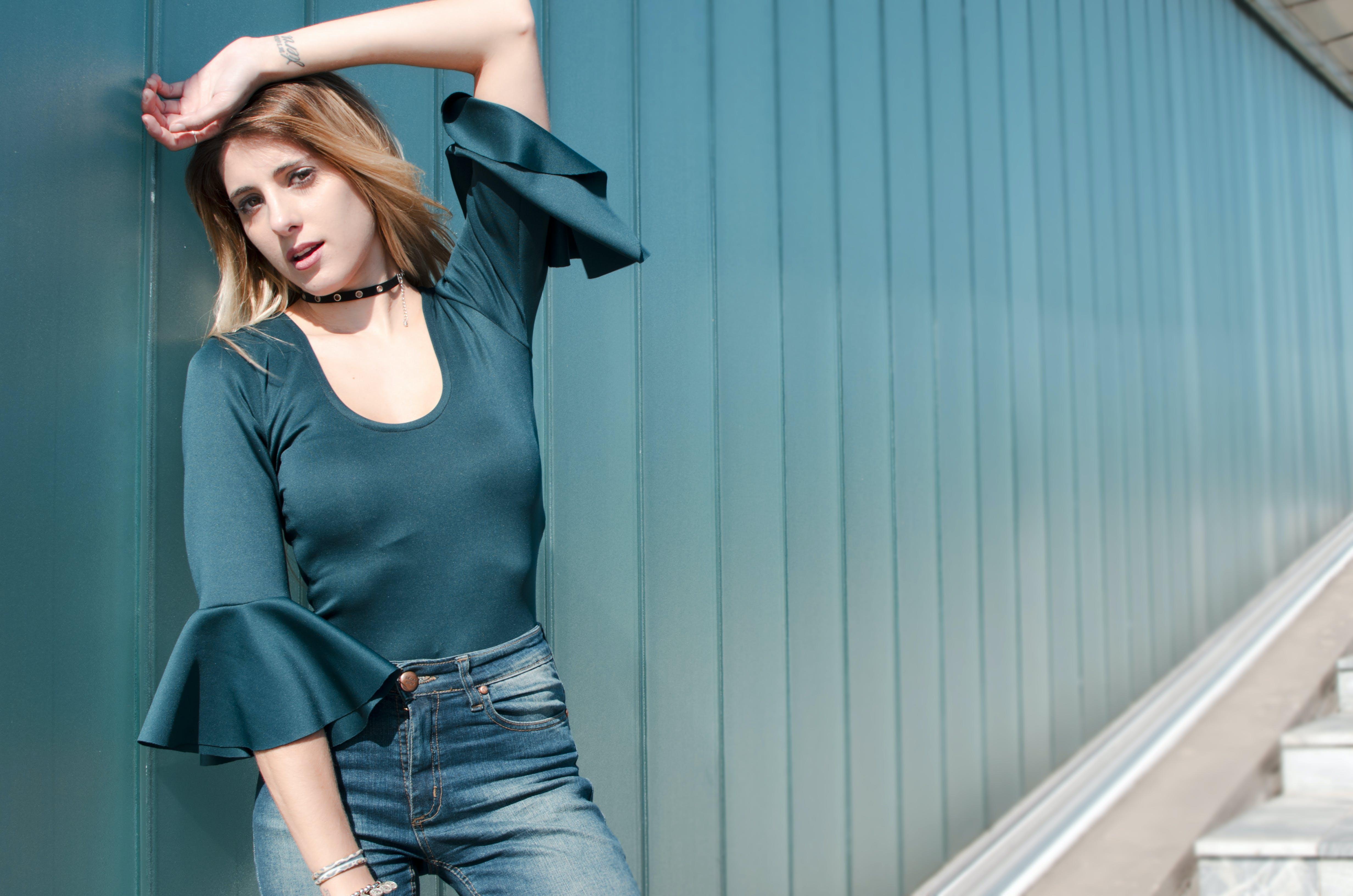 Kostnadsfri bild av blå, blond, fotografering, glamour