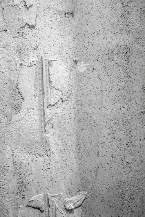 灰色混凝土, 牆壁, 粗糙, 表面 的 免費圖庫相片