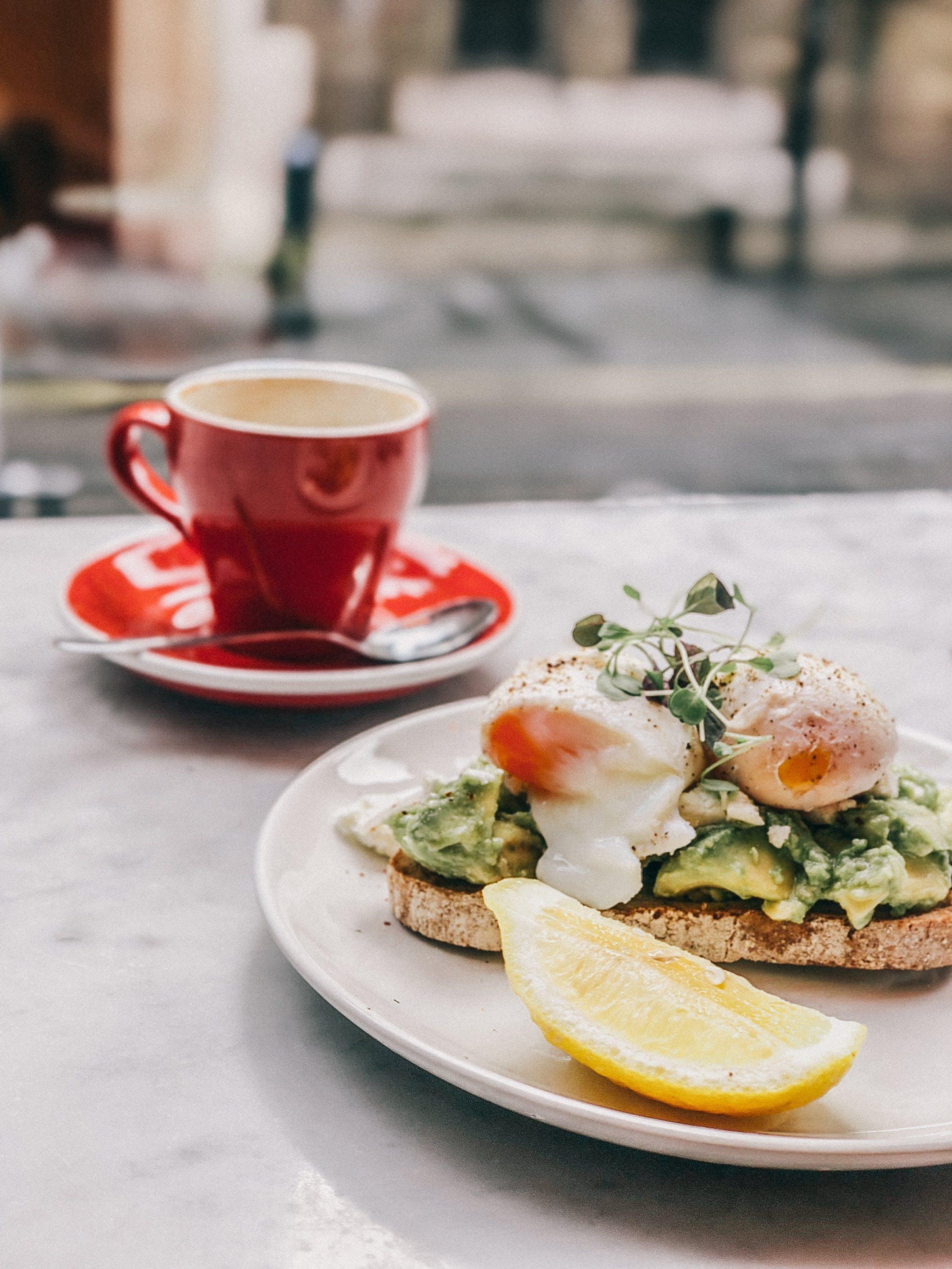 Foto profissional grátis de alimento, bebida, café, carne
