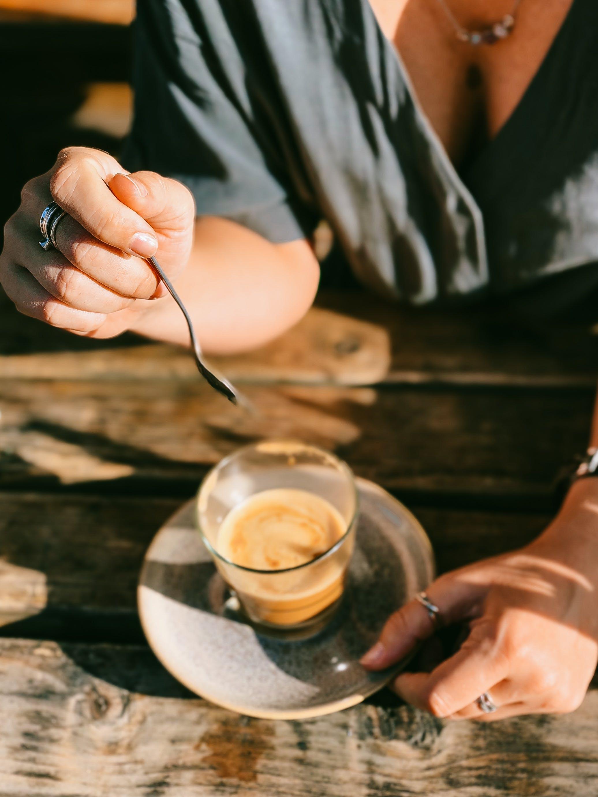Základová fotografie zdarma na téma čajová lžička, denní světlo, dřevěný, dřevo