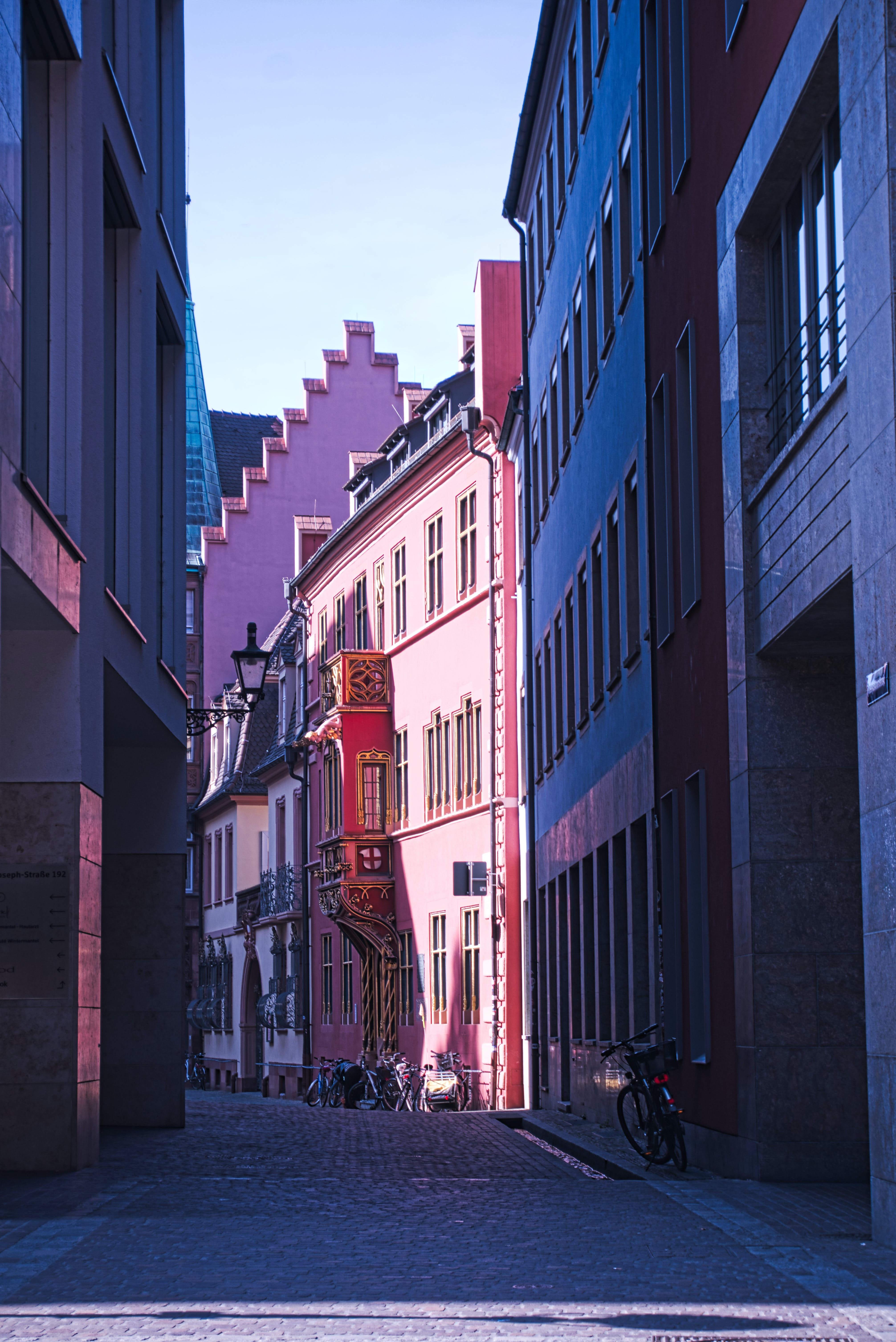 Free stock photo of Freiburg, Gässle