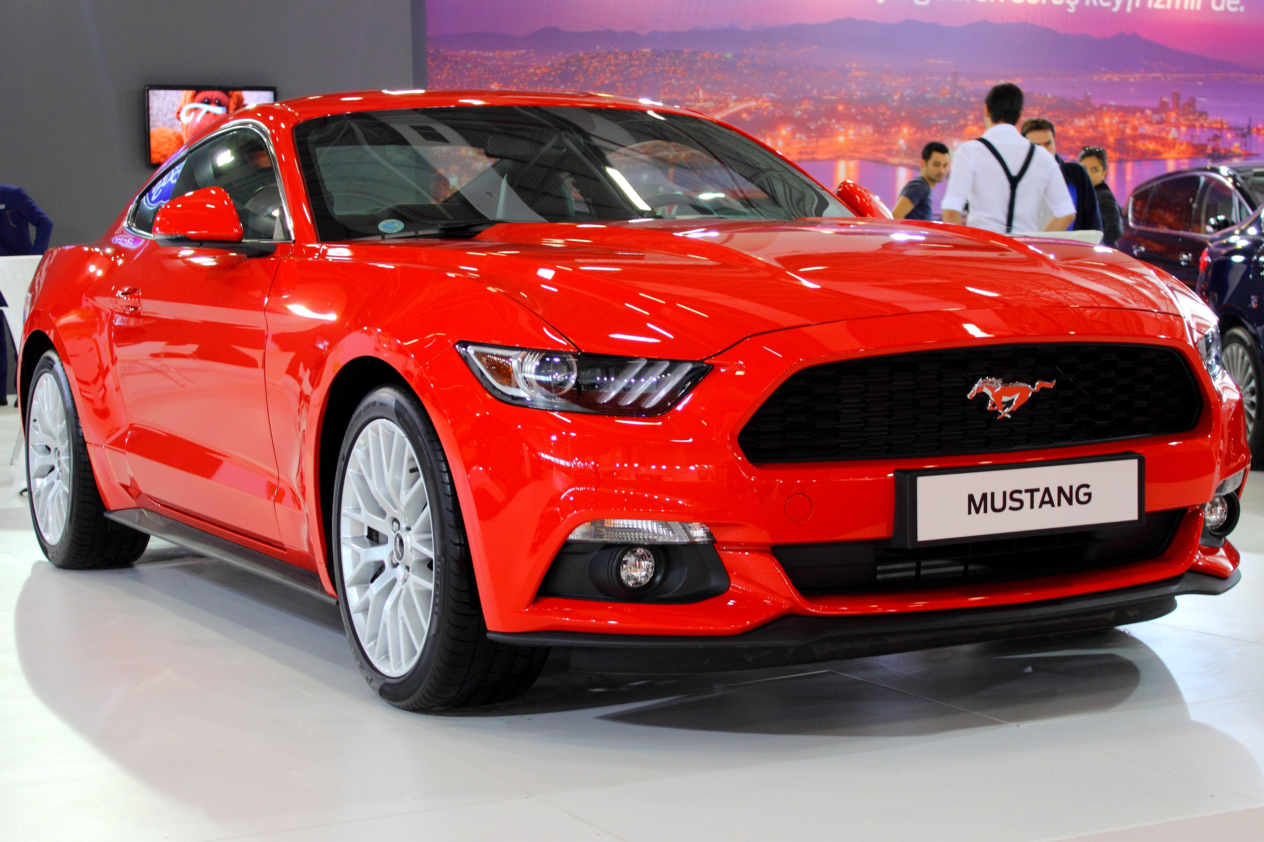 Free stock photo of IZMIR AUTO SHOW '16  //  FORD MUSTANG
