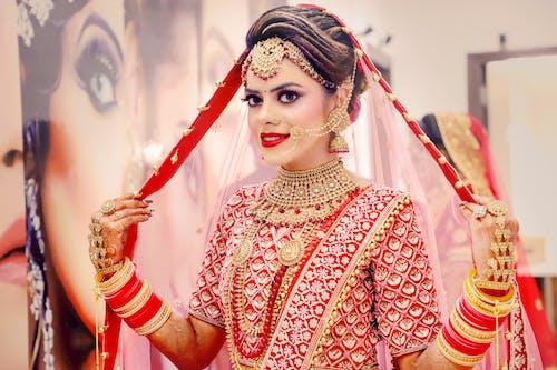Free stock photo of bridal, delhi, delhibride