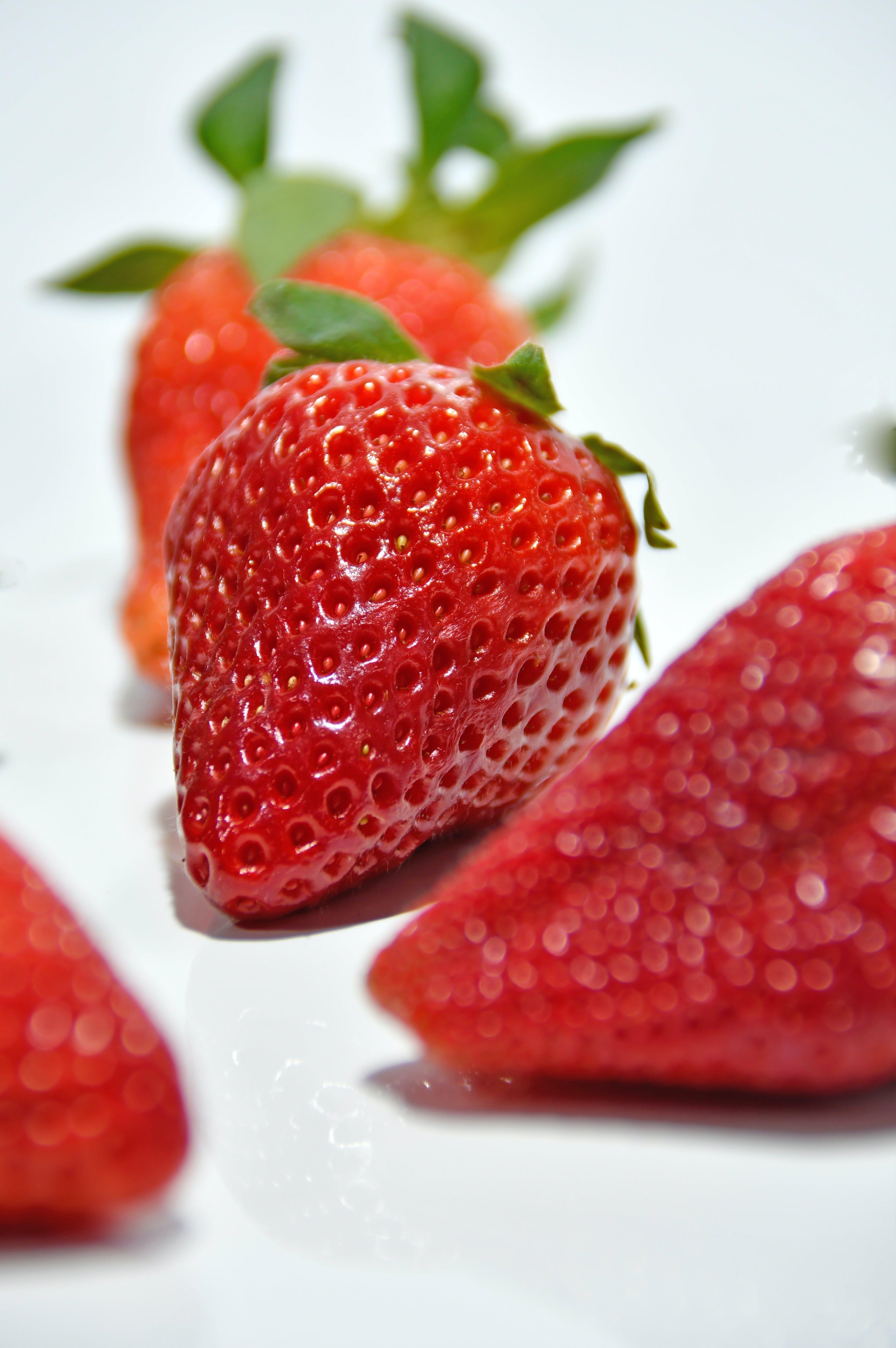 Kostenloses Stock Foto zu beere, dessert, diät, erdbeere