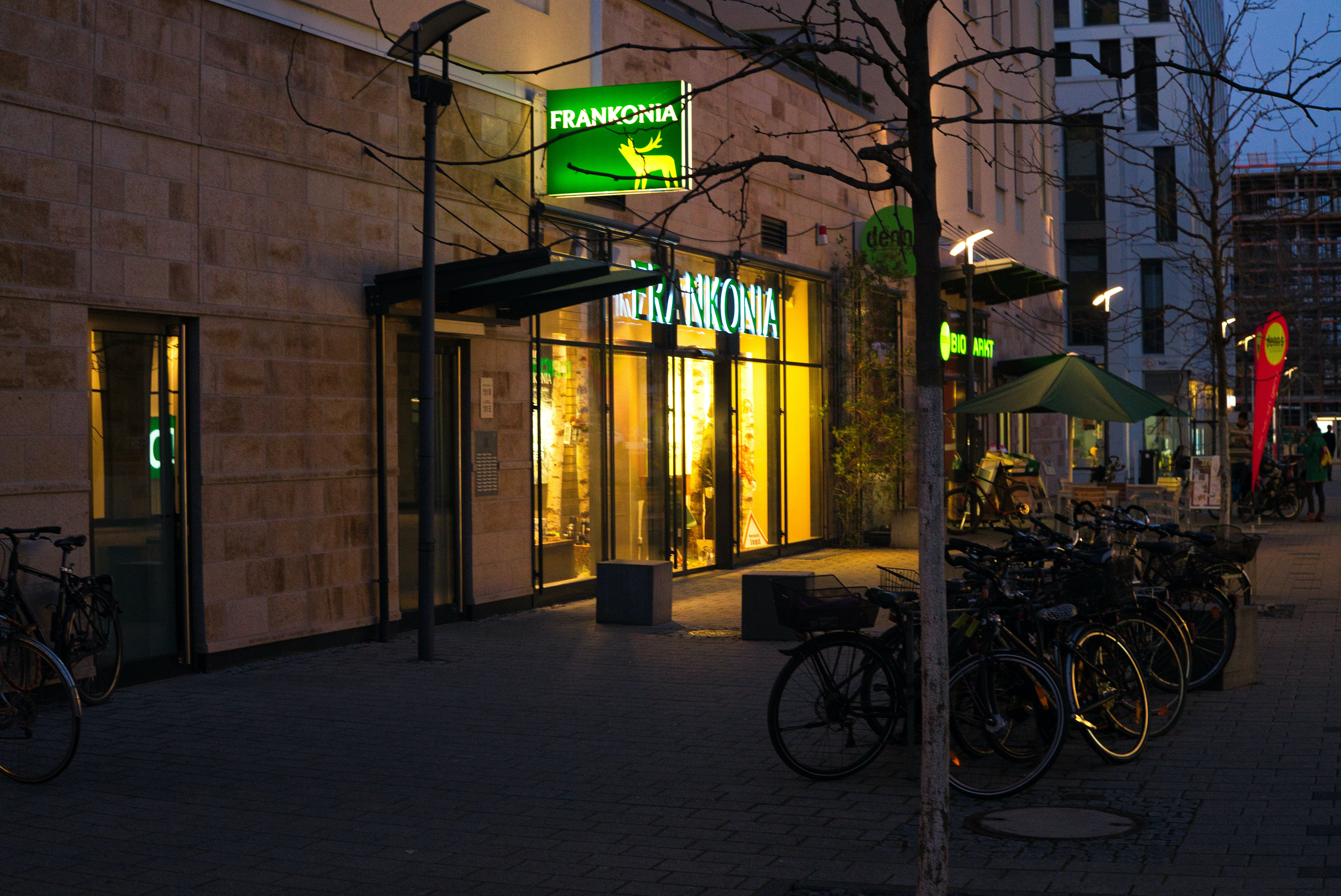 Free stock photo of boutique, night, shopping mile